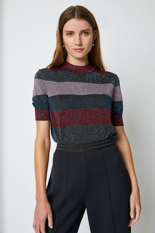 macy knit round neck jumper