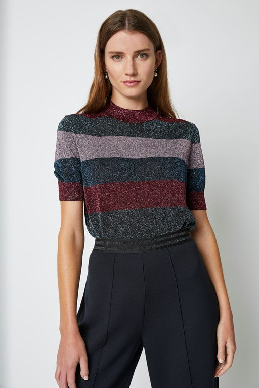 Complete the Look Macy Knit Round Neck Jumper