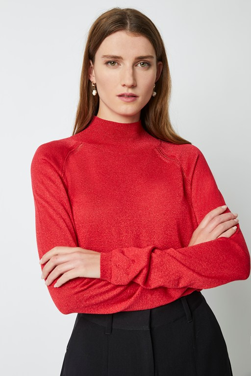 Complete the Look Nicol Knit Mock Neck Jumper