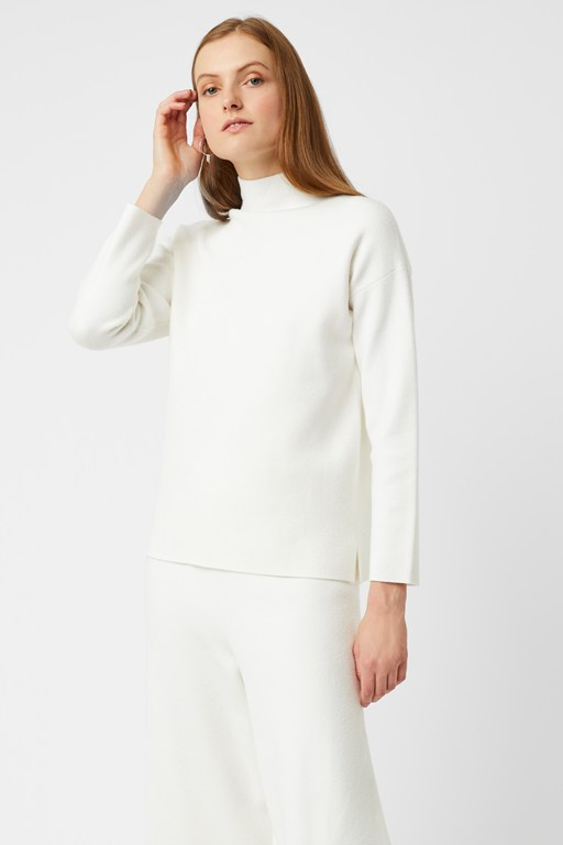 ensley knit high neck jumper