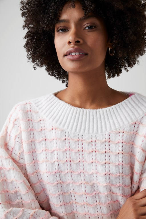 primm knit boat neck jumper