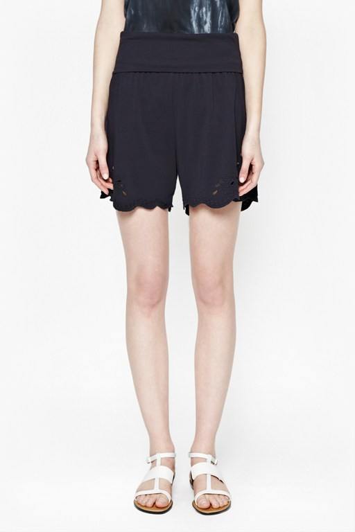 adriana cut-out shorts