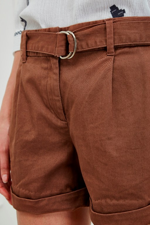 Complete the Look Safari Cotton Shorts