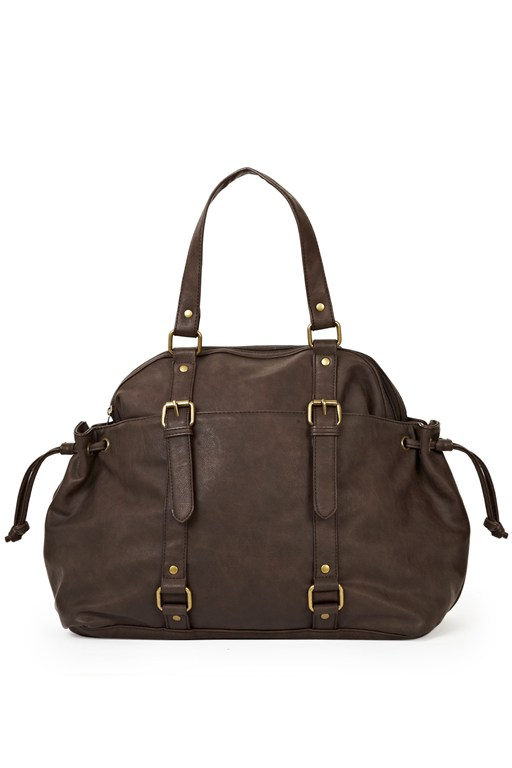 Complete the Look Slouchy Mo Buckled Bag