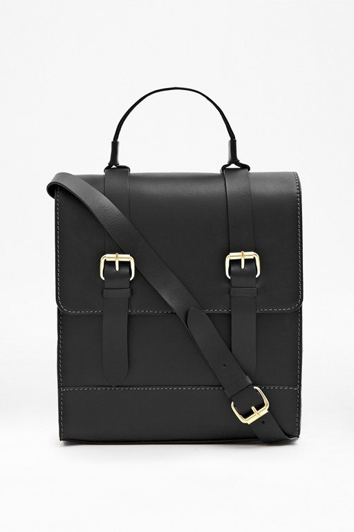 Complete the Look Greenwich Village Leather Satchel
