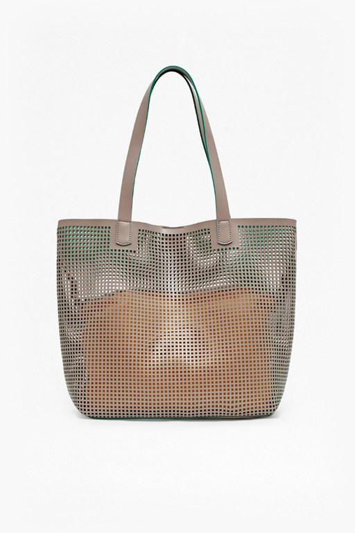 Complete the Look Summer Punch Tote Bag