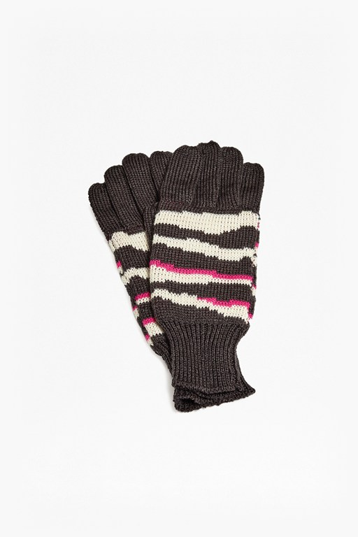 studio 54 zebra gloves