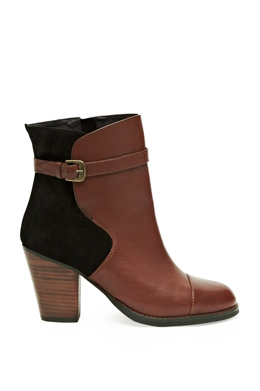 Complete the Look Palermo Contrast Ankle Boots