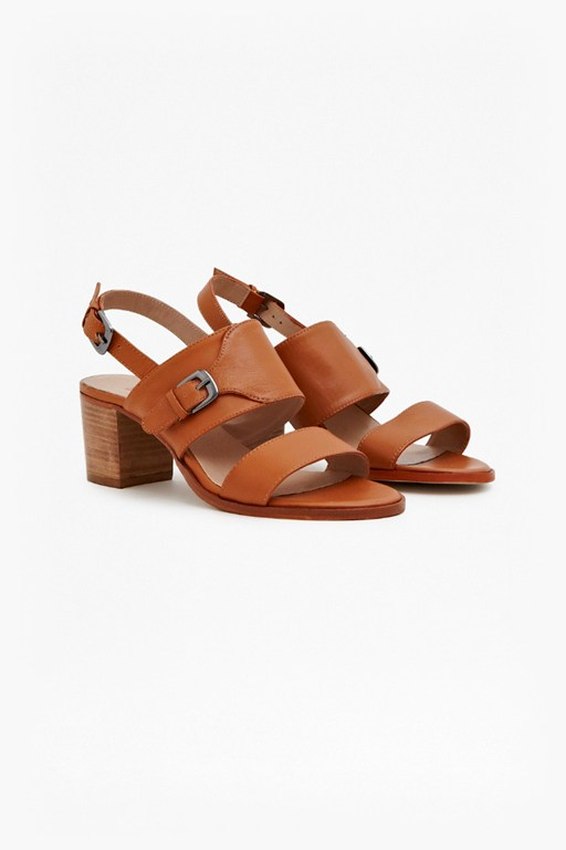 Complete the Look Summer Sling Leather Sandals