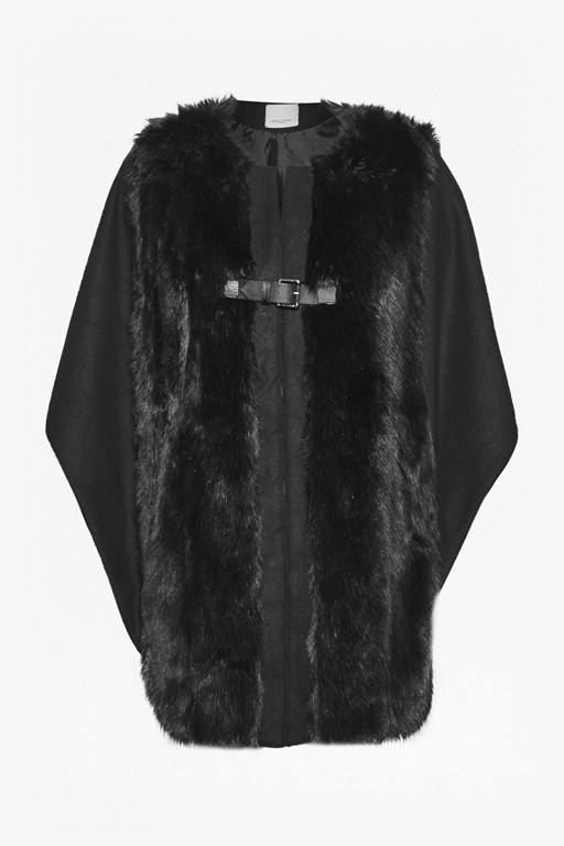 Complete the Look Claridges Faux Fur Cape