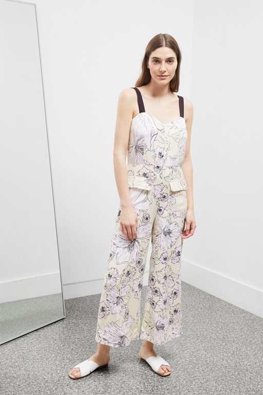 Complete the Look Tropical Flora Jumpsuit