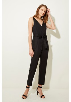 Lightweight Tie Sleeveless Jumpsuit