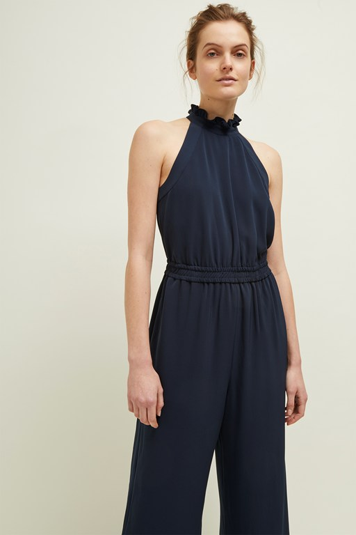 louis crepe jumpsuit