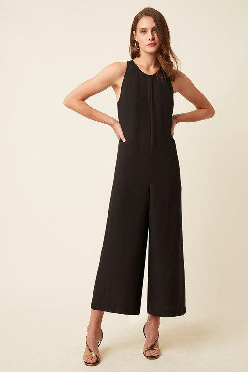 claude luxe sleeveless jumpsuit