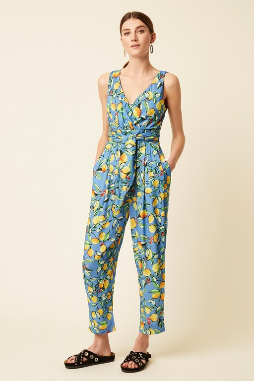 sorrento lemon jumpsuit