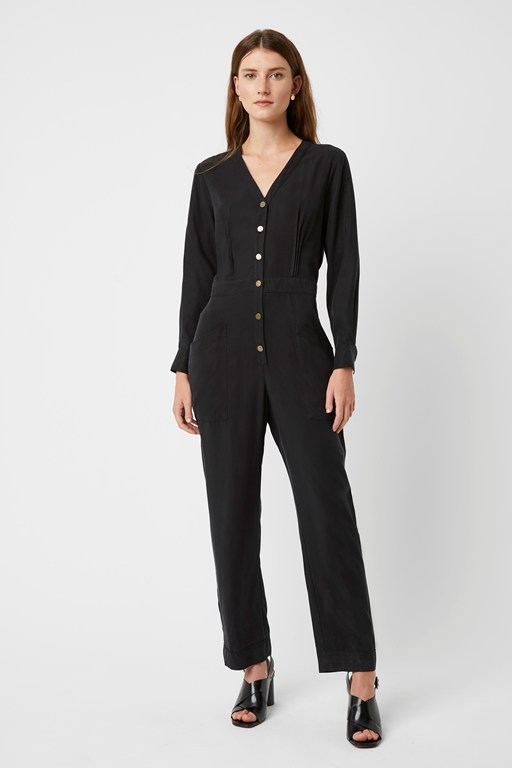 arundel luxe button jmpsuit