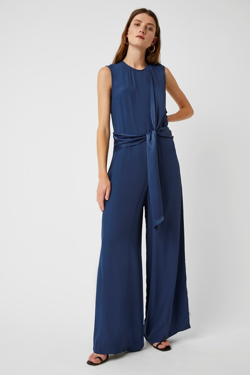 carly luxe sleeveless jumpsuit