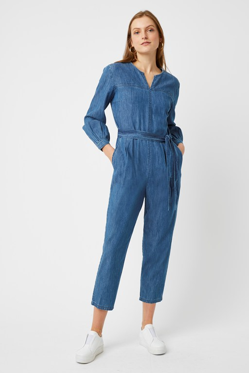 malvern denim jumpsuit