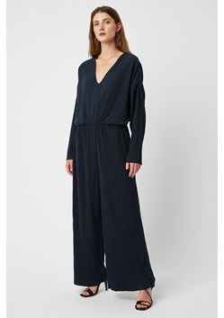 Callie Pleat V Neck Jumpsuit