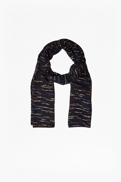 Complete the Look Tokyo Sky Printed Scarf
