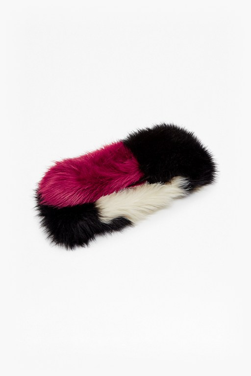 faux fur nancy stole
