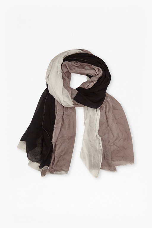 eastern colour block scarf