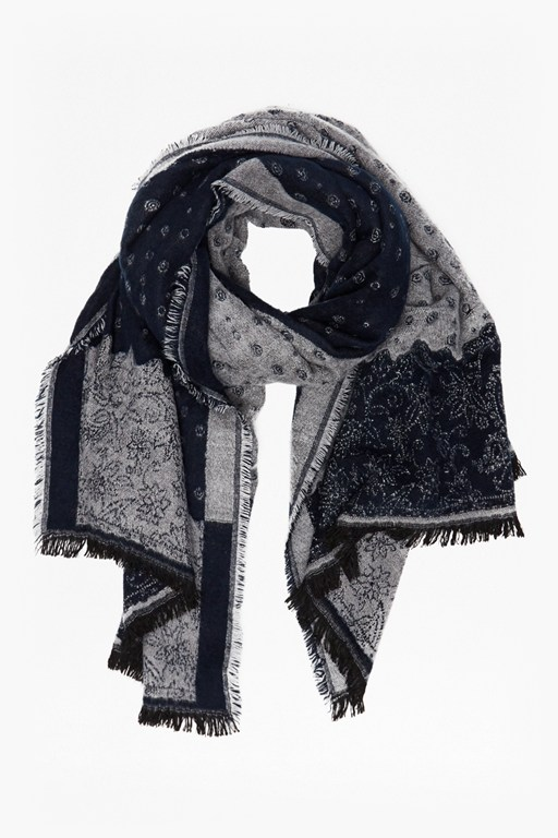 Complete the Look Winter Paisley Scarf