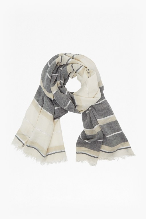 summer shine stripe scarf